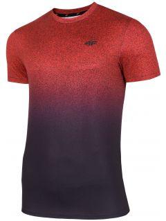 Tricou de antrenament pentru bărbați TSMF208 - roșu allover