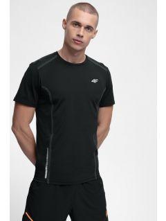 Tricou de antrenament pentru bărbați TSMF216 - negru profund