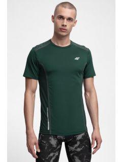 Tricou de antrenament pentru bărbați TSMF216 - verde închis