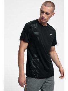 Tricou de antrenament pentru bărbați TSMF257 - negru profund