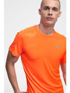 Tricou de alergare pentru bărbați TSMF257 - portocaliu neon