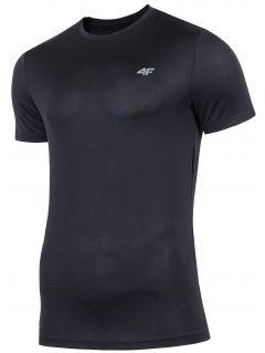 Tricou de antrenament pentru bărbați TSMF300 - negru profund