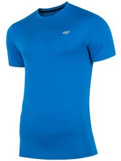 Tricou de antrenament pentru bărbați TSMF300 - cobalt