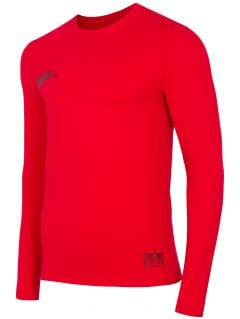 Tricou cu mânecă lungă pentru bărbați TSML203 - roșu