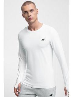 Tricou cu mânecă lungă pentru bărbați TSML300 - alb