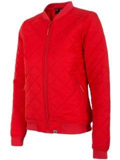 Jachetă din puf pentru femei KUD005 - roșu