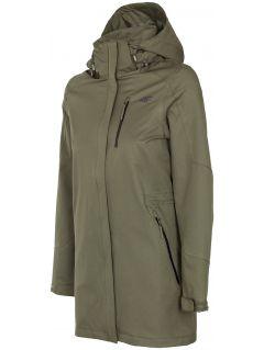 Jachetă de oraș pentru femei KUDT004 - kaki