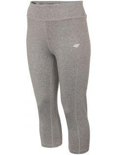 Pantaloni funcționali pentru femei SPDF001 - negru intens melanj