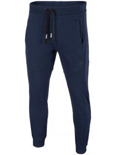 Pantaloni de molton pentru bărbați SPMD002 - bleumarin închis