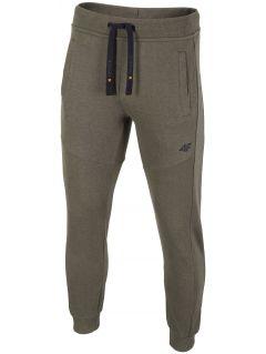 Pantaloni de molton pentru bărbați SPMD002 - kaki melanj
