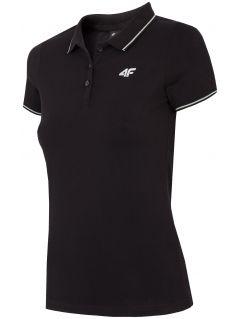Tricou polo pentru femei TSD013 - negru intens
