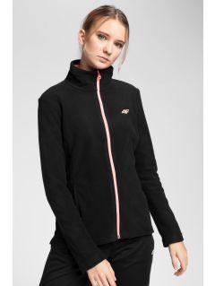 Bluză din fleece pentru femei PLD001 - negru