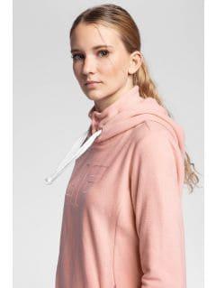 Bluză din fleece pentru femei PLD004 - roz deschis