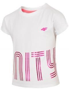 Tricou pentru fete (122-164) JTSD200 - alb