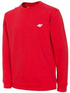 Bluză pentru copii mari (băieți) JBLM209 - roșu