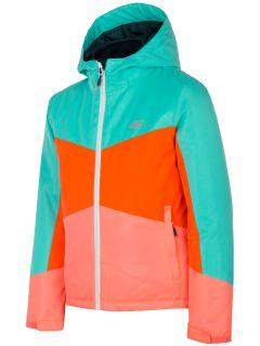 Jacheta 3în1 pentru copii mari (fete) JKUD204 - multicolor allover