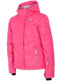 Jachetă de schi pentru copii mici (fete) JKUDN300 - fuxie