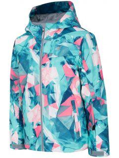 Jachetă de schi pentru copii mici (fete) JKUDN301 - mentă