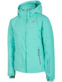 Jachetă de schi pentru copii mari (fete) JKUDN400A - mentă