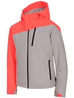 Jachetă de schi pentru copii mari (fete) JKUDN402 - gri