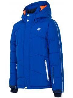 Jacheta de schi pentru copii mari (băieți) JKUMN400 - cobalt
