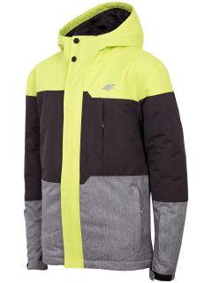 Jacheta de schi pentru copii mari (băieți) JKUMN408 - verde deschis
