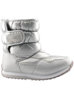 Încălțăminte de iarnă pentru copii mari (fete) JOBDW205 - argintiu