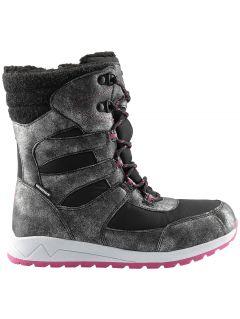 Încălțăminte de iarnă pentru copii mari (fete) JOBDW404 - negru