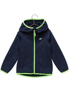 Bluza din fleece pentru copii mici (băieți) JPLM101 - bleumarin