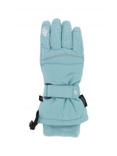 Mănuși de schi pentru copii mari (fete) JRED402 - mentă