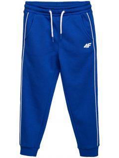 Pantaloni de molton pentru copii mici (băieți) JSPMD105 - cobalt