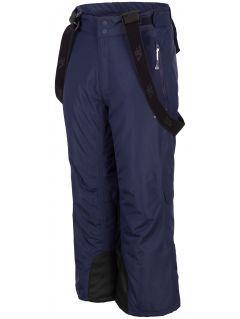Pantaloni de schi pentru copii mari (băieți) JSPMN400 - bleumarin