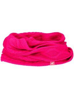 Fular circular pentru copii mari (fete) JSZD203 - fuxie