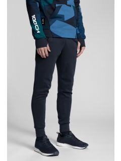 Pantaloni de molton pentru bărbați Kamil Stoch Collection SPMD501 - bleumarin