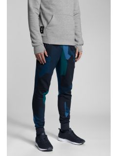 Pantaloni de molton pentru bărbați Kamil Stoch Collection SPMD501 - multicolor allover