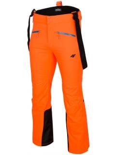 Pantaloni de schi pentru bărbați SPMN151 - portocaliu neon