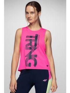 Top de antrenament pentru femei TSDF206 - roz