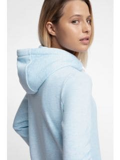 Bluza pentru femei BLD301 - albastru deschis melanj