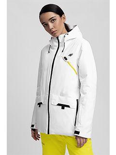 Jachetă de schi pentru femei KUDN255 - alb