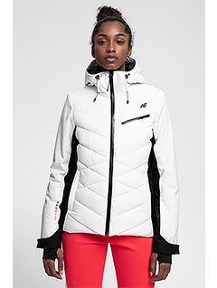 Jachetă de schi pentru femei KUDN256 - alb