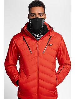 Jachetă de schi pentru bărbați KUMN150 - roșu