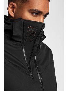 Jachetă de schi pentru bărbați KUMN152 - negru