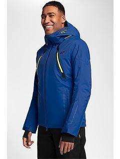 Jachetă de schi pentru bărbați KUMN153 - cobalt