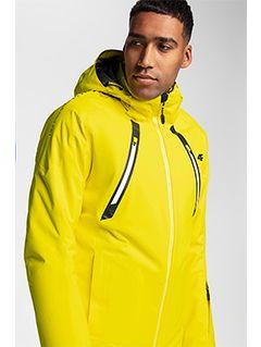 Jachetă de schi pentru bărbați KUMN153 - galben