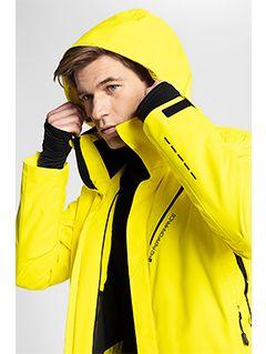 Jachetă de schi pentru bărbați KUMN154 - galben