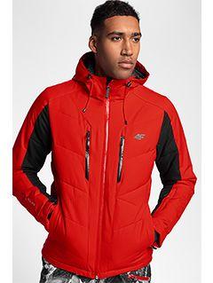 Jachetă de schi pentru bărbați KUMN256 - roșu