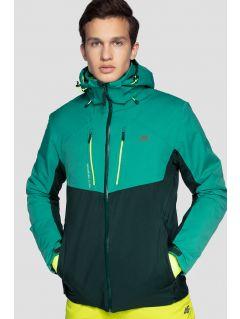 Jachetă de schi pentru bărbați KUMN258 - verde marin