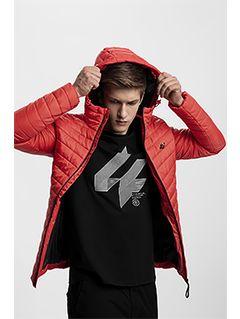 Jacheta din puf pentru bărbați KUMP301 - roșu