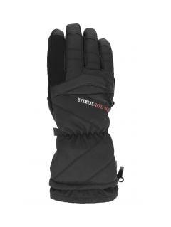Mănuși de schi pentru bărbați REM150 - negru profund