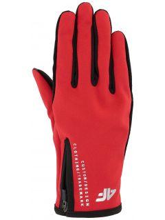 Mănuși de sport unisex REU102 - roșu